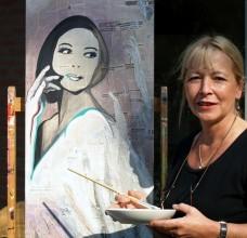 kunstenaar kunstschilder schilderijen artist Ank ter Kuile