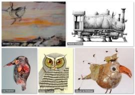 Expositie In het Wild Galerie Vier Hoog Achter Zeist