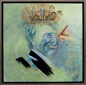 winnaar wedstrijd staatsieportret Koning Willem Alexander