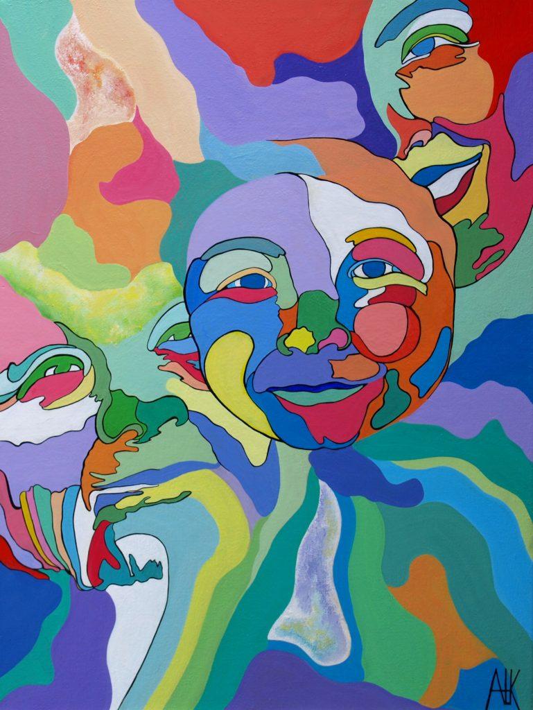 schilderij schilderijen Ank ter Kuile Galerie Novia