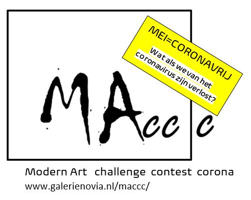 maccc-kunstwedstrijd mei coronavrij